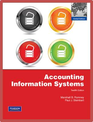 Accounting Information Systems: Global Edition  ISBN  9780273754374