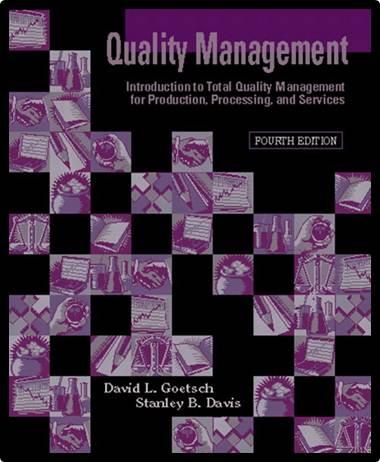 Quality management   ISBN 9780131224612