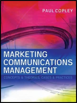 Marketing Communications Management  ISBN 9780750652940