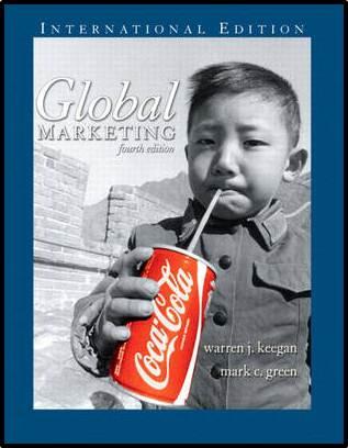 Global Marketing, 4th Edition  ISBN 9780131968547