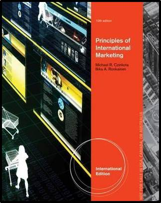 International Marketing,  10E  ISBN 9781133588399