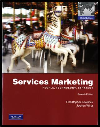 Services Marketing 13E Global Edition  ISBN  9780273756064