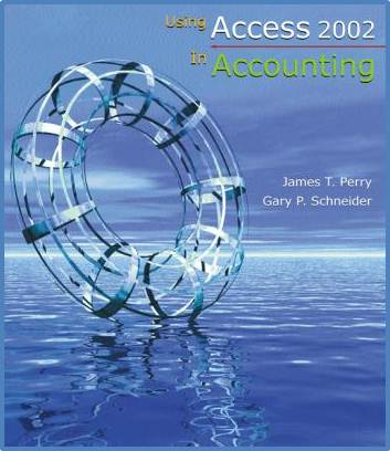 Using Access 2002 In Accounting   2E /ISBN 9780324190342