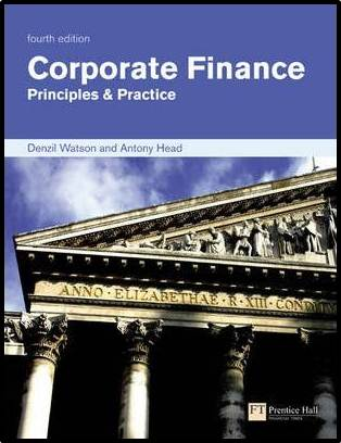 Corporate Finance : Principles  Practice  4th edition  ISBN 9780273706441