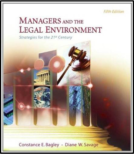 Managers and the Legal Environment : Strategies for the 21st Century   ISBN  9780324269512