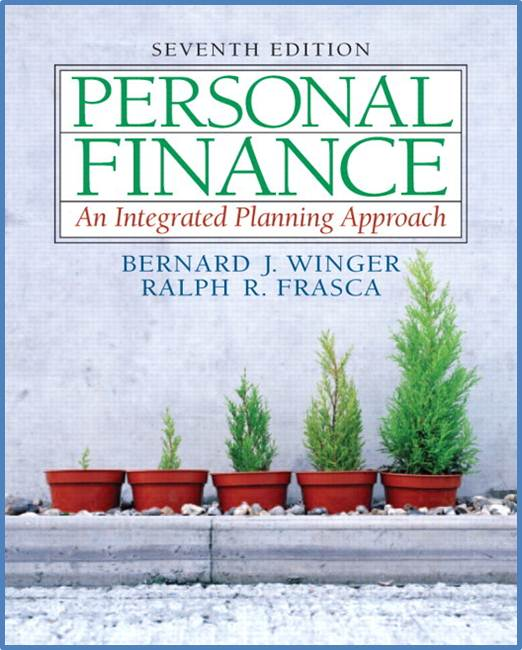 Finance : An Integrated Planning Approach, 7th Edition ISBN 9780132191609