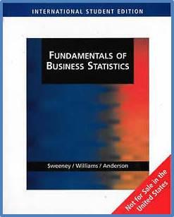 Fundamentals of Business Statistics International Student Edition   ISBN 9780324305913