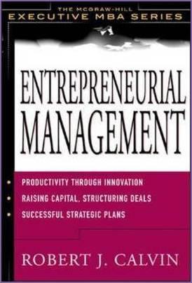 Entrepreneurial Management  ISBN 9780071382007