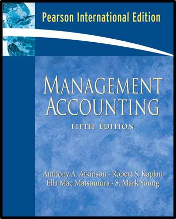 Management Accounting: International Edition, 5/E  ISBN 9780136132851