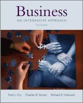 Business : An Integrative Approach  ISBN  9780072845303