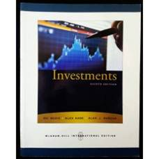 Investments  8th Edition  ISBN  9780071263252