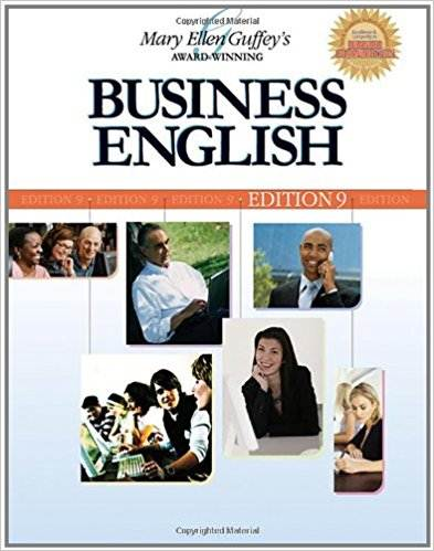Business English  9th Edition  ISBN 9780324366068
