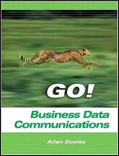 Business Data Communications   ISBN 9780131424296