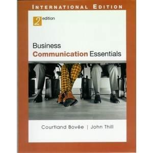 Business  Communication  Essentials  2E  ISBN 9780131968851