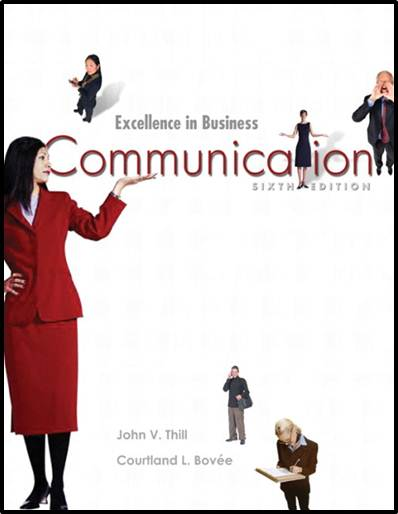 Excellence In Business Communication, 6th Edition  ISBN 9780131419650