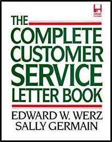 Complete Customer Service Letter Book  ISBN 9780071137713