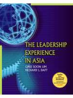 The Leadership Experience in Asia 1st Edition  ISBN 9789812436139