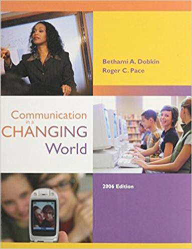 Communication in a Changing World   ISBN 9780072959826
