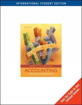 Accounting : Concepts and Applications, International Edition  ISBN  9780324648508