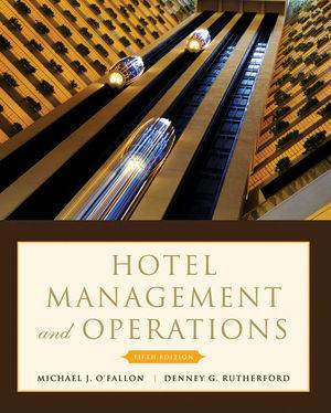 Hotel Management and Operations, 5th Edition  ISBN 9780470177143