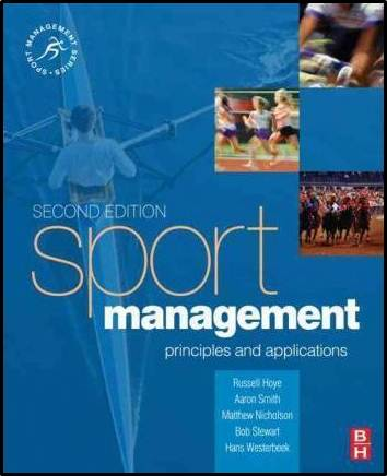Sport Management : Principles and applications  ISBN 9780750687553