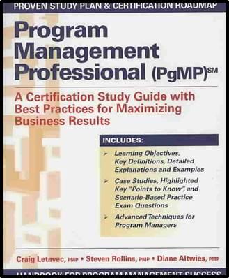 Program Management Professional (PGMP)  ISBN 9781932159868