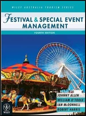 Festival and Special Event Management  ISBN  9780470812525