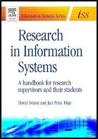 Research in Information Systems   ISBN  9780750666558