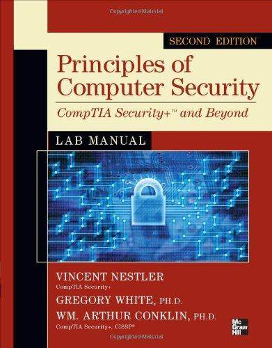 Principles of Computer Security CompTIA Security  2 Edition  ISBN 9780071748568