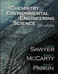Chemistry for Environmental Engineering and Science   5E  ISBN  9780071230452