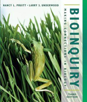 BioInquiry  : Making Connections in Biology, 3rd Edition  ISBN  9780471473213