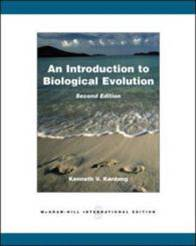 Introduction to Biological Evolution  ISBN  9780071285827