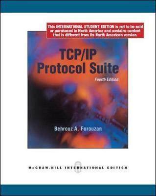 TCP/IP Protocol Suite  4E  ISBN  9780071084208
