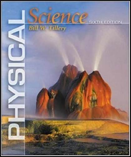 Physical Science  6E ISBN 9780071113458