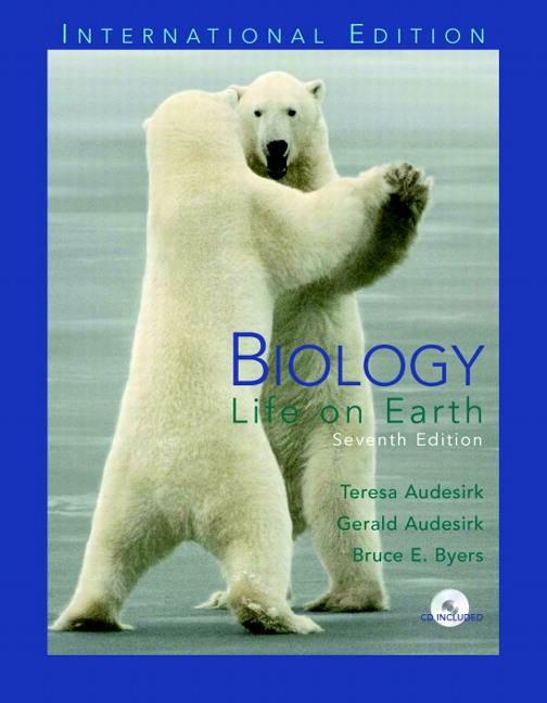 Biology: Life on Earth: International Edition, 7/E  ISBN 9780131272057