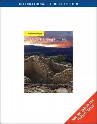 Understanding Humans  10E  ISBN  9780495604174