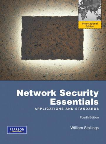 Network Security Essentials  ISBN 9780137067923