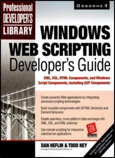 Windows Scripting Developer\'s Guide  ISBN  9780072122800