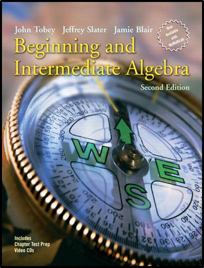Beginning and Intermediate Algebra  ISBN 9780131492035