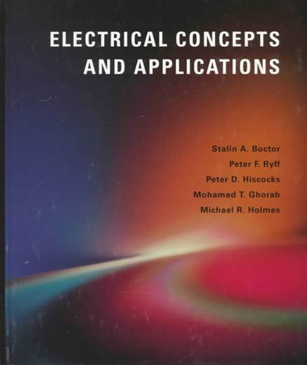 Electrical Concepts and Applications ISBN 9780314202024