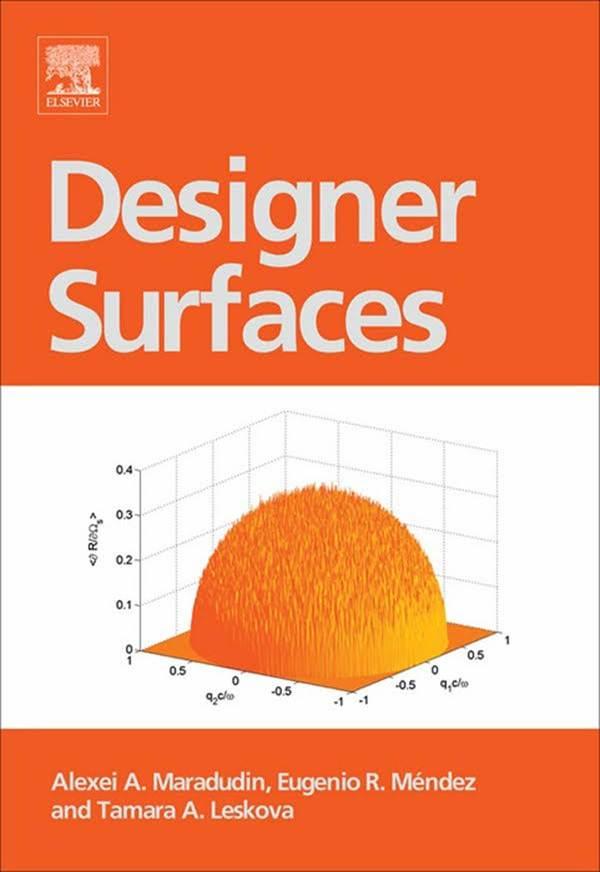 Designer Surfaces  ISBN 9780444530486