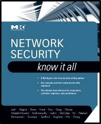 Network Security: Know It All  1st Edition  ISBN  9780123744630