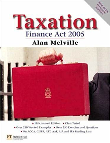 Taxation: Finance Act 2005  ISBN 9780273706373