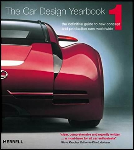 Car Design Yearbook 01  ISBN 9781858941813