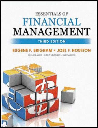 ESSENTIALS OF FINANCIAL MANAGEMENT  ISBN 9789814441377