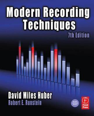 Modern Recording Techniques (Audio Engineering Society Presents) 7th Edition  ISBN 9780240810690