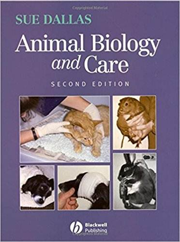 Animal Biology and Care  ISBN  9781405137959