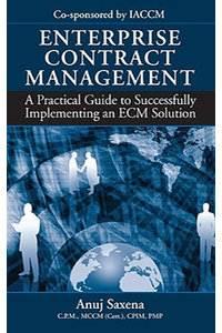 Enterprise Contract Management  ISBN 9781932159905