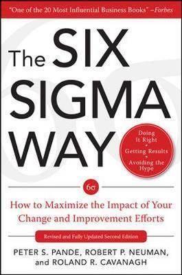 The Six sigma way ISBN  9780071358064
