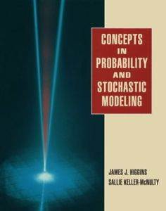 Concepts in Probability and Stochastic Modeling ISBN 9780534231361